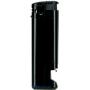 10523-čierny/čierny spodok zapaľovač plniteľný s otvárakom U-800