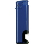 10527-modrý/čierny spodok zapaľovač plniteľný s otvárakom U-800