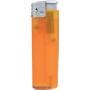 10791-mrazivá oranžová/strieborný vrch zapaľovač plniteľný U-800