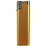 20604-metalický zlatý/strieborný vrch zapaľovač plniteľný U-117