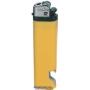 21162-žltý zapalovač jednorázový s otvárakom U-30