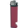 21165-červený zapalovač jednorázový s otvárakom U-30