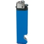 21166-modrý zapalovač jednorázový s otvárakom U-30