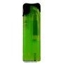 23086-neónový zelený/čierny vrch zapaľovač plniteľný U-117
