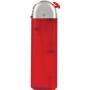 24033-mrazivá červená/strieborný vrch zapaľovač plniteľný U-22