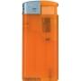 27080-mrazivá oranžová/strieborný vrch zapaľovač plniteľný U-811