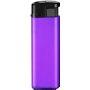 53246-výrazná fialová/čierny vrch zapaľovač plniteľný
