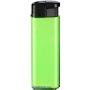 53255-výrazná zelená/čierny vrch zapaľovač plniteľný