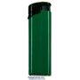 54006-zelený/čierny vrch zapaľovač plniteľný